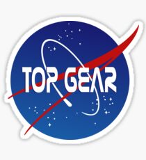 Top Gear 'NASA' logo Sticker