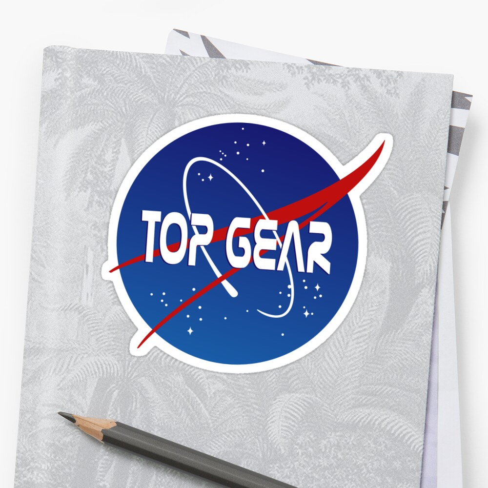 Top Gear 'NASA' logo by not-the-stig