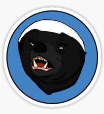 honey badger! Sticker