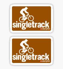 Singletrack Sticker
