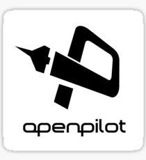 OpenPilot (black) Sticker