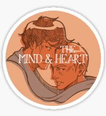 [the mind & the heart] Sticker