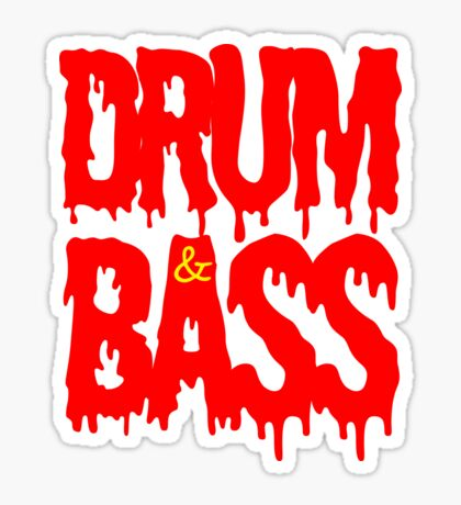 Drum & Bass  Sticker