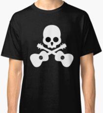 Old Skull Music Guitar Classic T-Shirt