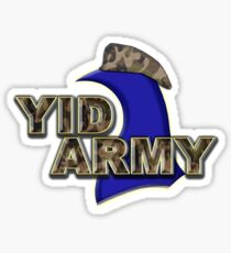 The Yid Army - Tottenham's Faithful Fans Sticker
