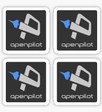 OpenPilot small x4 Sticker