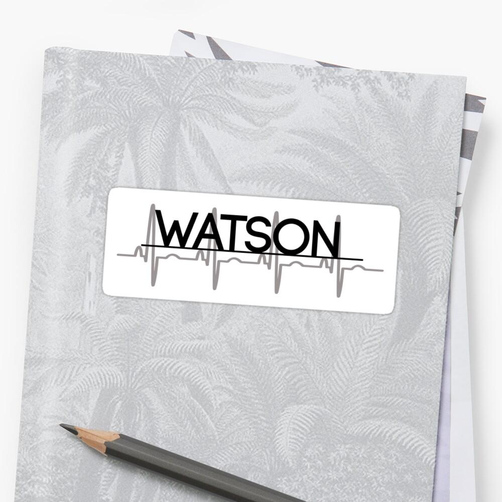 Watson Rhythm - Sticker by MCXI