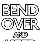 Bend Over & Keep Quiet sticker by Julian Holtom