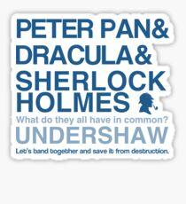 Save Undershaw Now (Sticker 3) Sticker