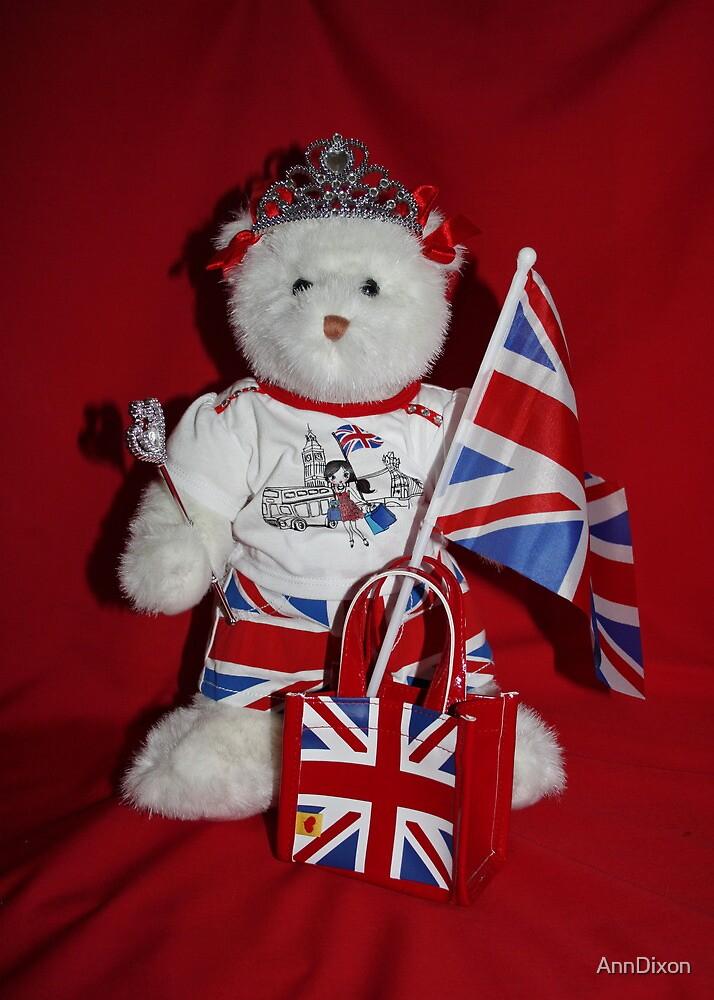 Jubilee Teddy Bear by AnnDixon