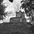 Conisbrough Castle by Ray Clarke