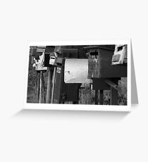 Letterboxes Greeting Card