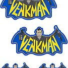 Venkman (sticker set) by kgullholmen