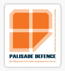 Palisade Defence Corporate Retreat 2006 Sticker