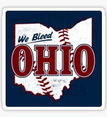 We Bleed Ohio Logo Tribe - Sticker Sticker