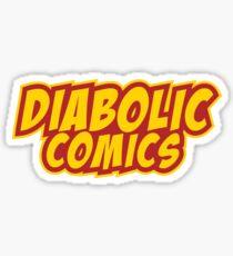 DIABOLIC COMICS Sticker