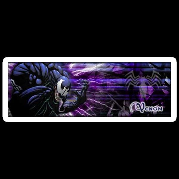 Venom sticker by newager89