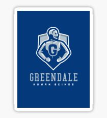 Greendale Human Beings - STICKER Sticker