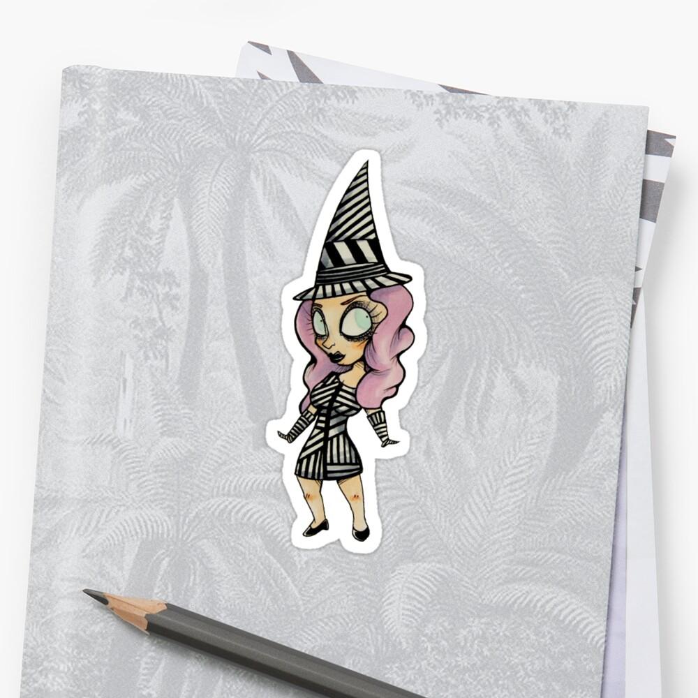 Sharon Needles Sticker #1 by plasticpiranha