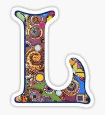 The Letter L Sticker