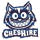 Cheshire Originals - Blueberry Stripe Scribble Sticker by CheshireGoMad