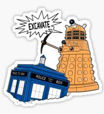 EXCAVATE!! Sticker