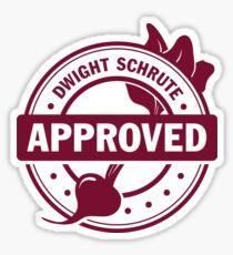 Schrute Approved Sticker