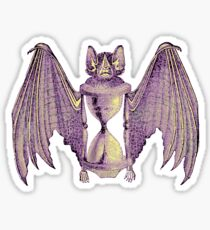 Inscrutable Time Bat Sticker