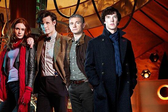 Team TARDIS by drawingdream