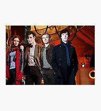Team TARDIS Photographic Print