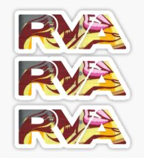 "RVA - Flood Wall ""For Lovers Stickers"" Sticker"