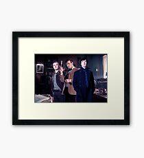 221b Baker street. Framed Print