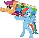 Rainbow Cannon by eeveemastermind