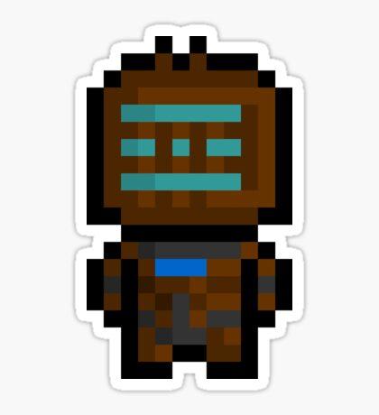 Pixel Isaac Clarke Sticker Sticker