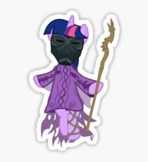 Twilight Sparkle Is A Dragon Priest Sticker
