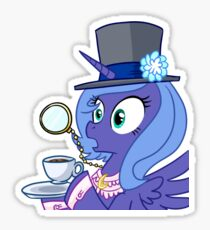 Luna Gasping  Sticker
