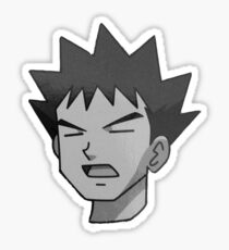 Brock - Artistic Touch Sticker