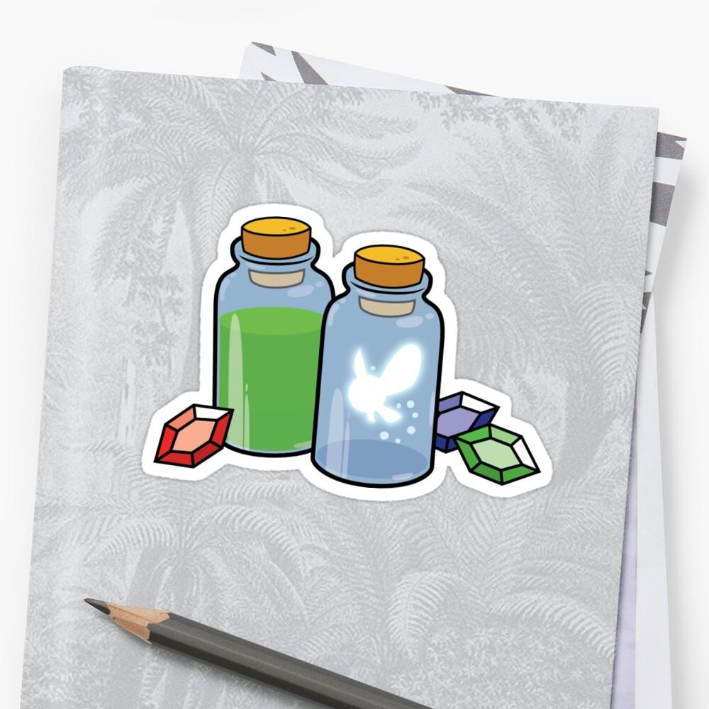 Zelda Items by Korikian