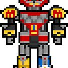 Pixel Megazord Sticker by PixelBlock