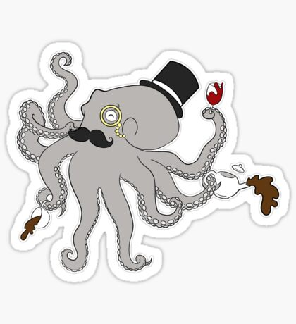 Squidworth the Third Sticker