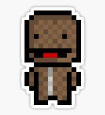 Pixel Sackboy Sticker Sticker