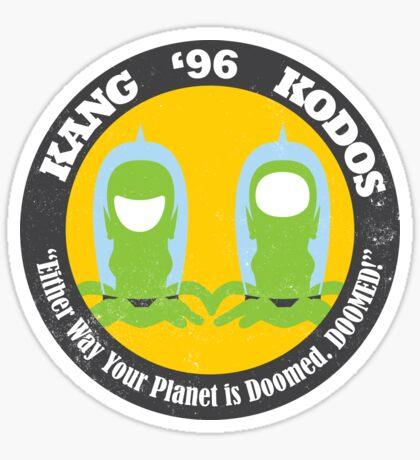 Vote Kang - Kodos '96 — Sticker Sticker