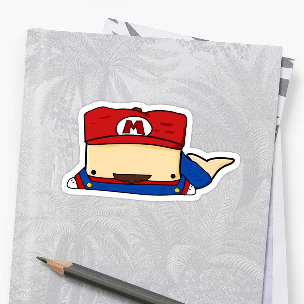 Plumber Whailz Sticker by pixelpatch