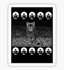 Fox chaos Sticker