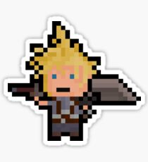 Pixel Cloud Sticker