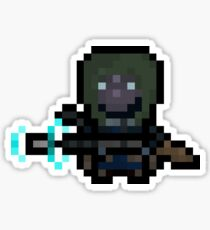 Pixel Scout Sticker