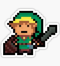Link, Hyrule's Pixel Guardian Sticker