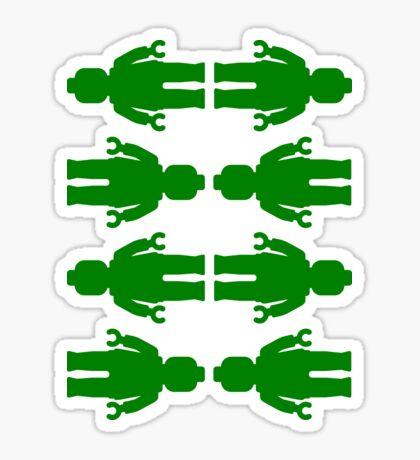 8 x Minifig Stickers  Sticker