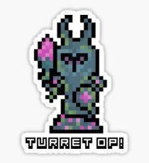 Pixel Tower Sticker