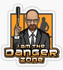 I am The Danger Zone Sticker